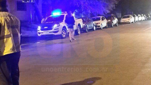 Controles. En la fiesta se observó presencia policial y de inspectores municipales.