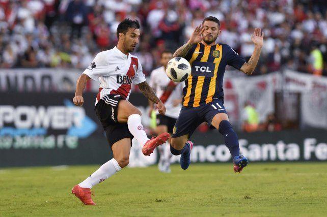 River le ganó con claridad a Rosario Central