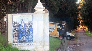 En octubre de 2012 la justicia de Entre Ríos realizó inspecciones en el Seminario. Foto UNO Archivo. Diego Arias.