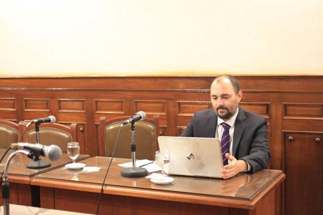 El defensor oficial José Rubén Boxler