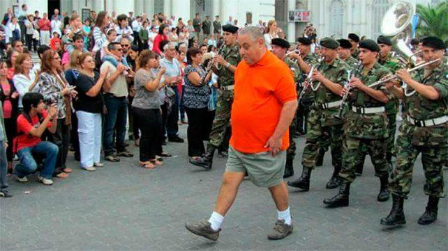 Homenaje: Cachito Avellaneda ya tiene su calle en Paraná