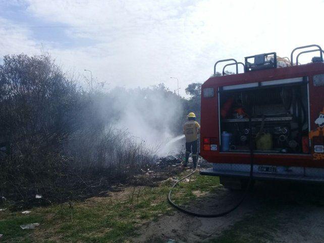 Piden circular con precaución por presencia de humo en la ruta