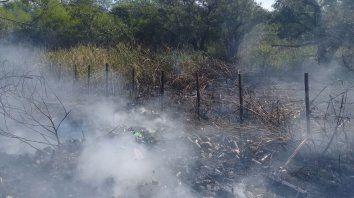 piden circular con precaucion por presencia de humo en la ruta