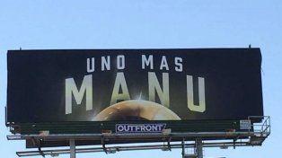 Un pedido especial para Manu
