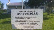 escuelas fumigadas: agmer vuelve a exigir una intervencion activa de la justicia