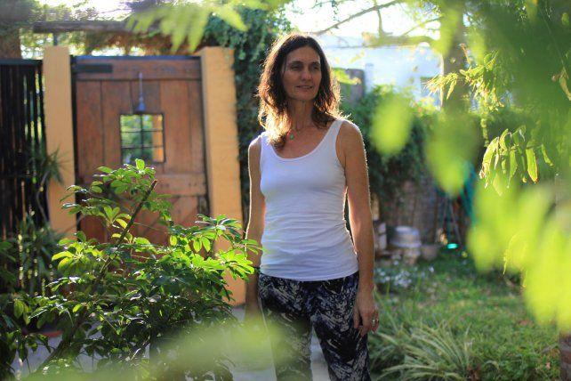 Estela Gariboglio toma clases desde 1991 y es facilitadora desde 1998. Foto UNO Juan Ignacio Pereira.