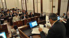 La convocatoria. El Senado provincial sesionará mañana desde las 19.