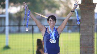 Contenta. Participé de seis pruebas y en todas salí premiada, dijo la paranaense de 60 años que desarrolla el deporte a nivel competitivo desde hace cinco años.
