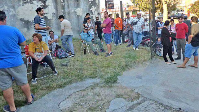 Entrega de entradas en Concepción del Uruguay