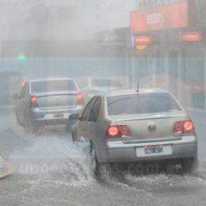 Rige alerta por probables tormentas fuertes  para una zona de Entre Ríos