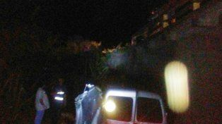 Fatal accidente en ruta 11: Un hombre murió al chocar contra la cabecera de un aliviador