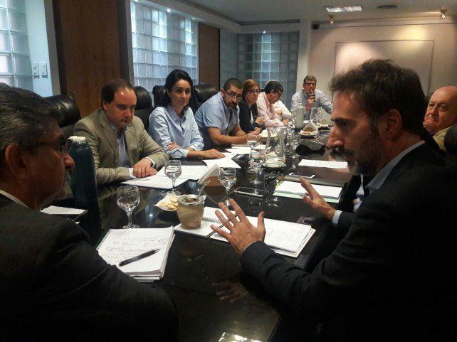 Villalonga se reunió este viernes con el presidente de ENERSA