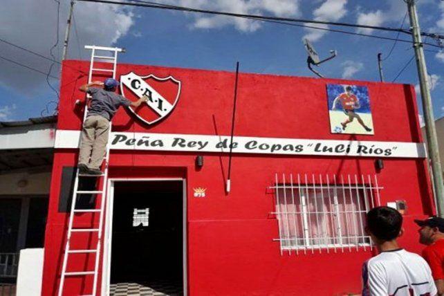 Históricos jugadores de Independiente traen la Copa Libertadores a Entre Ríos