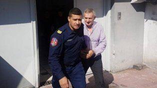 Righelato sale esposado rumbo a la Unidad Penal N°1 de Paraná.