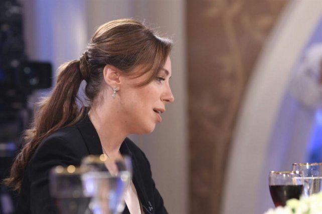 Mirtha la interrumpió y le preguntó:¿usted va a ser candidata a presidenta?