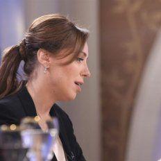 Mirtha la interrumpió y le preguntó:¿usted va a ser candidata a presidenta?, a lo que Vidal respondió.