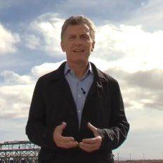 Macri habló desde Vaca Muerta y pidió a las provincias y municipios eliminar los impuestos sobre los servicios