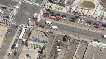 nueve muertos y 16 heridos por una furgoneta que arrollo a 10 personas