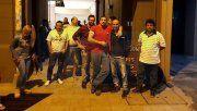 Trabajadores pasaron la noche en la sede del Sindicato de Empleados de Comercio