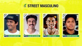 Brasil anunció la selección Olímpica de Skateboarding