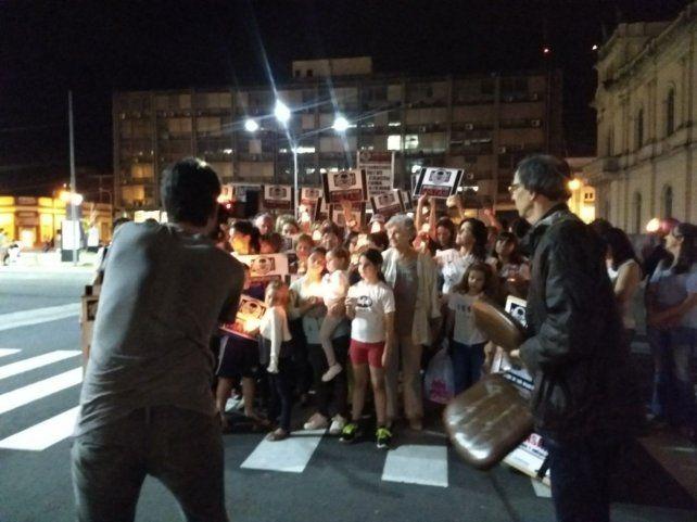 El fotógrafo de MU junto con el periodista Sergio Ciancaglini en la producción de la imagen.