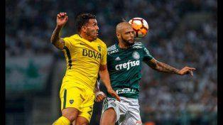 Se cruzarán. Carlos Tevez y Felipe Melo volverán a verse las caras esta noche en La Bombonera en un cotejo clave para las aspiraciones de sus equipos.