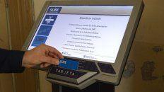 la facultad de ciencias economicas en parana ya cuenta con una terminal automatica de tarjeta sube