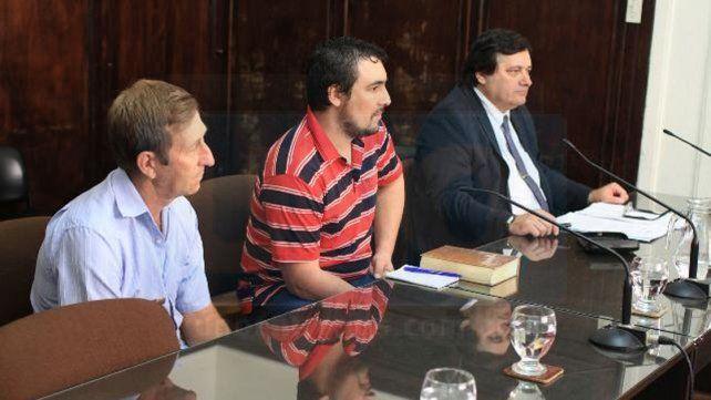 Condenados. El juez no les creyó ni al paraguayo (primero a la izquierda)