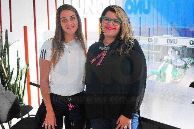 Agustina Cabilia y Adriana Pérez