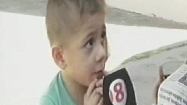 Un nene de cuatro años cayó a un canal de agua y su padre se tiró a salvarlo