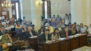 Pasó a comisión el proyecto que aumenta el boleto del transporte público