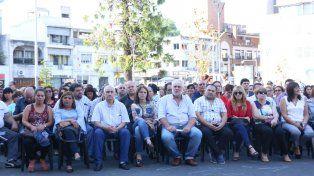 Allende lanzó su candidatura para un nuevo mandato frente a UPCN