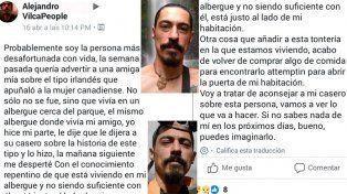 La premonición del argentino asesinado por un británico: Si no saben de mi...