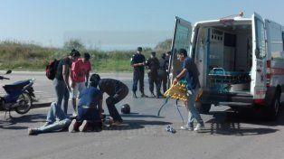 Siesta accidentada con tres choques y la fuga de una camioneta