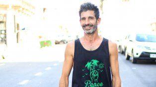 Rodo logró unir el skate con el circo y fue recibido por grandes artistas.FotoUNOJuan Ignacio Pereira.