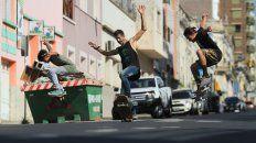 En Paraná, como en el resto del mundo el skate nació y vivirá en las calles.FotoUNOJuan Ignacio Pereira.
