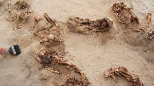 Descubrieron restos de 140 niños que podrían haber sido sacrificados hace 550 años
