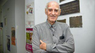 DE pie. Luis Sotes tiene 84 años