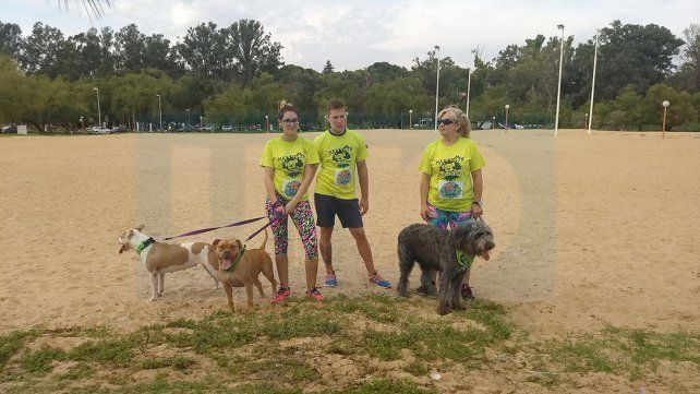 En el Día del Animal se realizó una competencia recreativa en el Thompson de Paraná