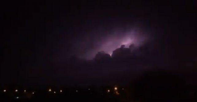 Doble alerta por tormentas fuertes para la provincia de Entre Ríos