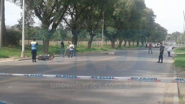 Son dos los detenidos por la muerte de motociclista que fue atropellado en avenida Almafuerte