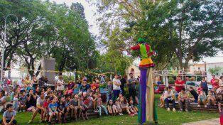 En La Paz se dieron actividades al aire libre para todo público.