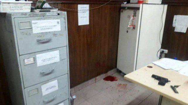 A los tiros: Así coparon una comisaría los delincuentes en San Justo