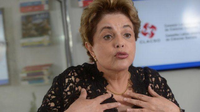 La ex presidenta de Brasil