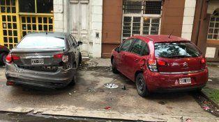 El conductor que chocó cuatro autos y se fugo, admitió que se había dormido