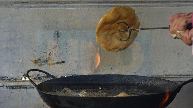 Día del trabajador lluvioso: tarde ideal para las tortas fritas