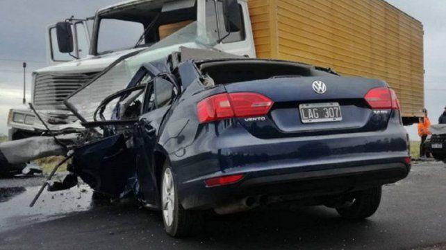 Conductor entrerriano falleció en una ruta uruguaya