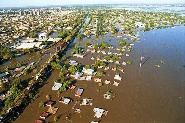 Presentaron un proyecto para paliar las consecuencias de las inundaciones