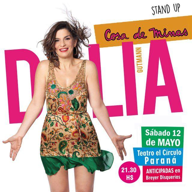Dalia Gutman se presentará en Paraná