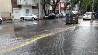 Por las intensas lluvias hubo problemas en Paraná y Urdinarrain
